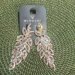 Two sparkly earrings for special events